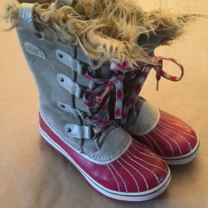 Sorel Girls Size 1 Pac Winter Snow Boots